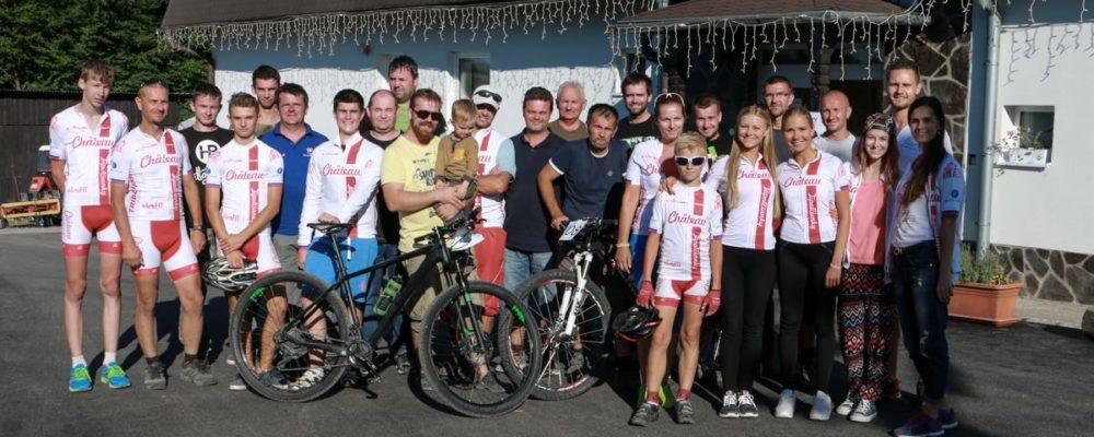 Foto cyklistickeho teamu SK Topolcianky